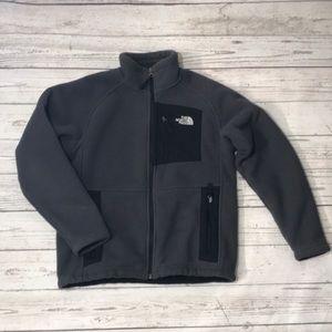 The north face boy  fleece jacket M(10/12)